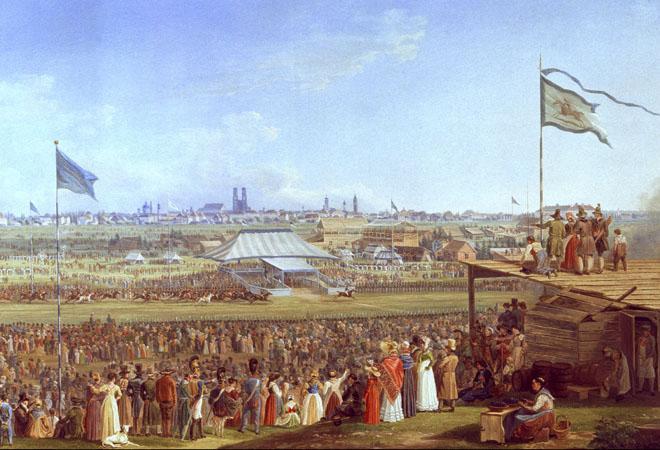 Oktoberfest in 1810