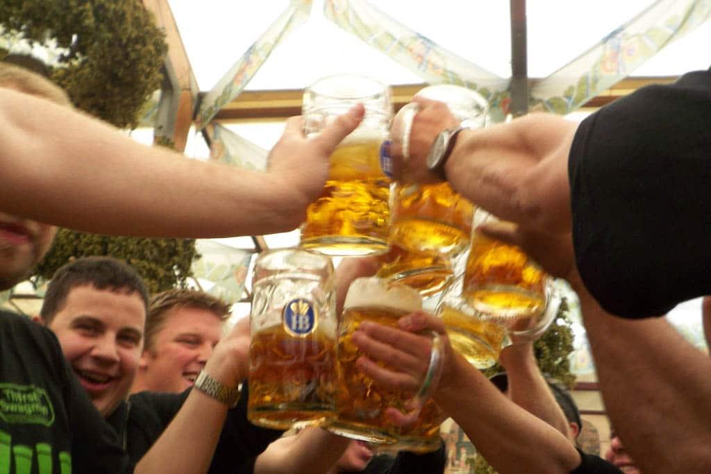 Beer Steins at Oktoberfest