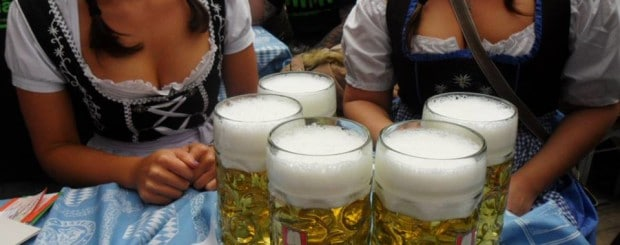 Oktoberfest 2013 Beer Consumption