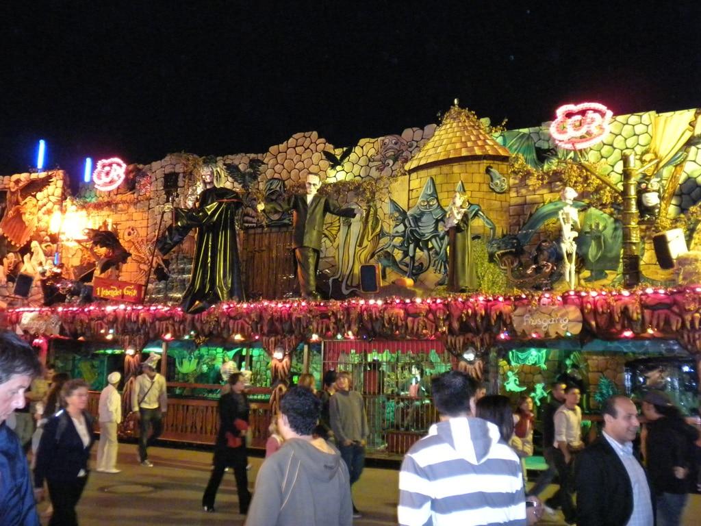 Haunted houses at Oktoberfest
