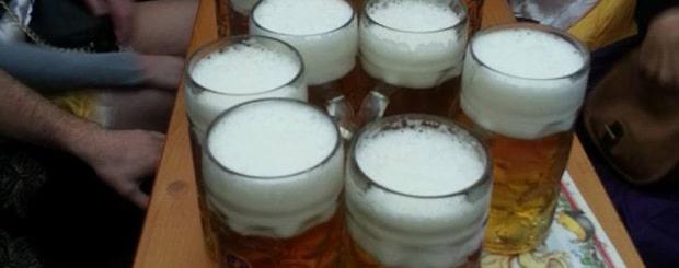 Oktoberfest Beer Consumption 2014
