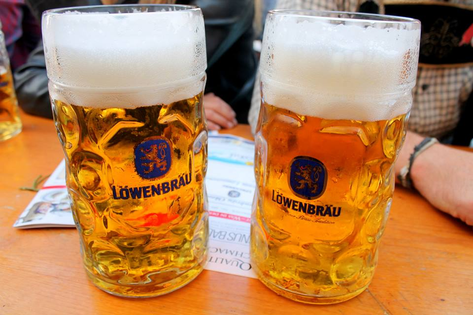 The Löwenbräu was Monika's favourite beer and tent.