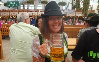 Oktoberfest Legend Sarah Strachan