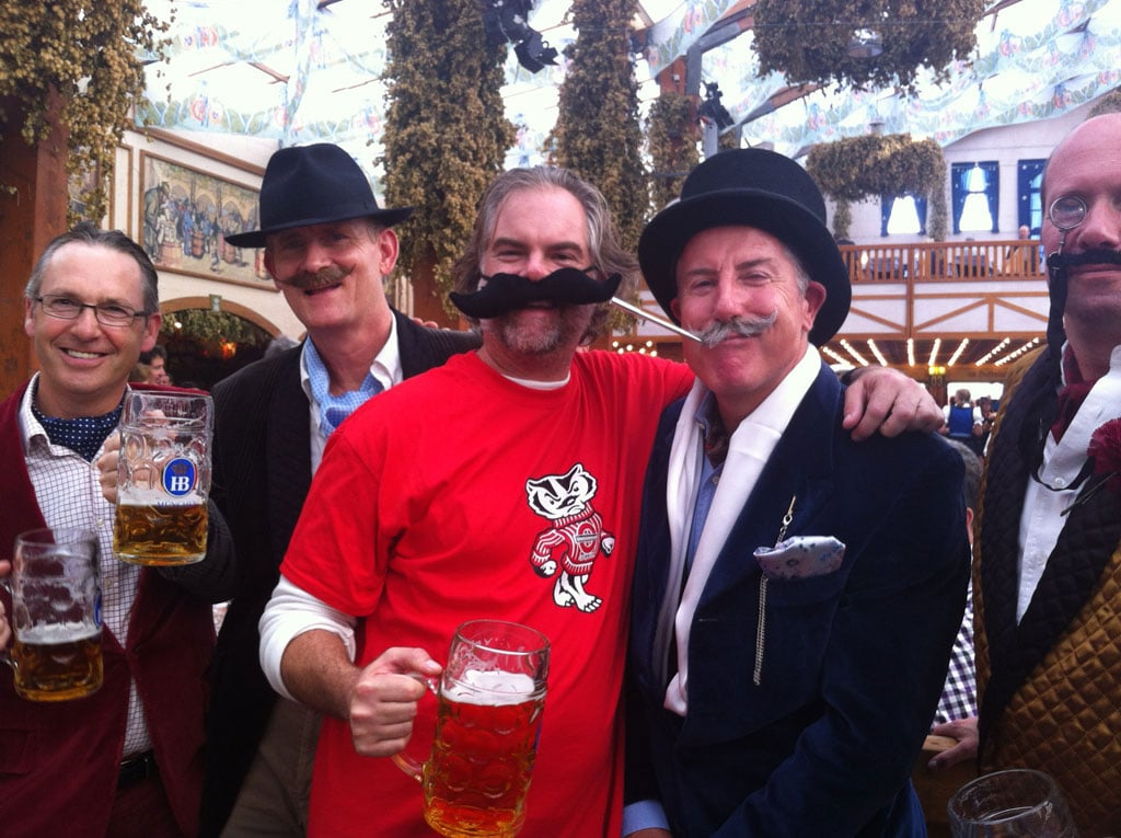 Having fun is what it's all about at the beer festival