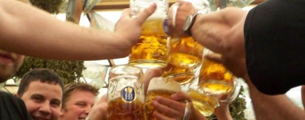 Beer drinking law Oktoberfest