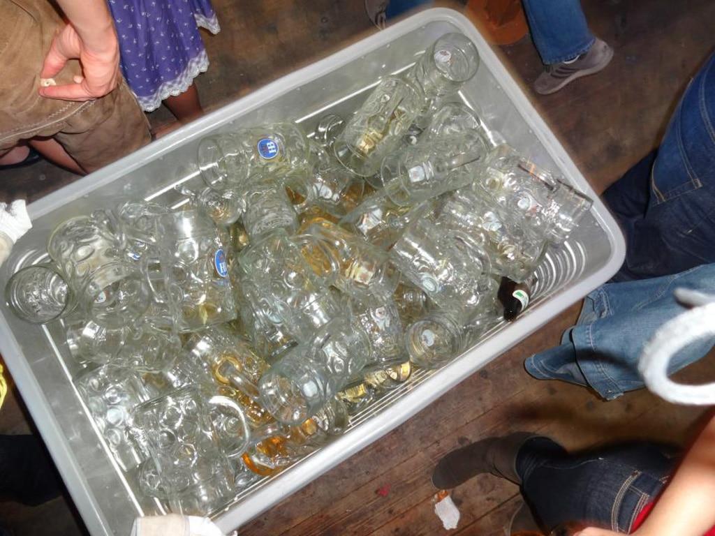 Oktoberfest 2015 Beer Consumption