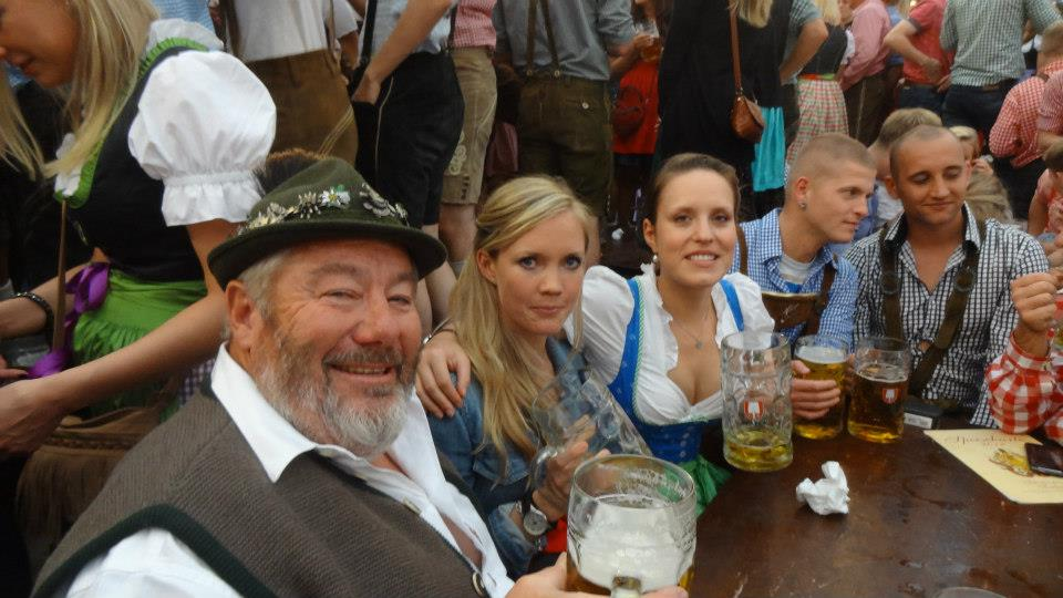 Oktoberfest Legend Chris Barton-Fox