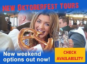 Oktoberfest 2017 weekend packages