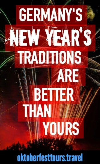 Germany's New Year's Traditions | Sylvester | Odin | Bleigießen lead pouring | Dinner for One | New Year's Eve | holiday |