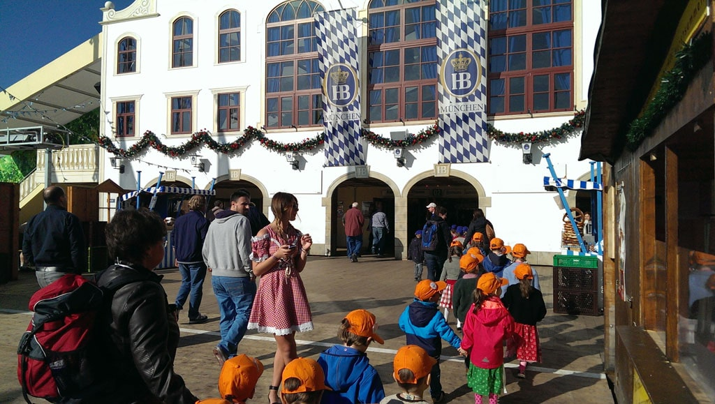 Oktoberfest school excursions