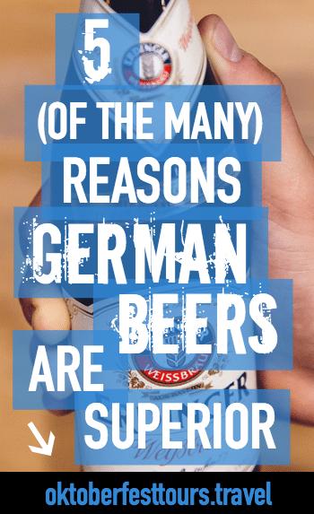 5 Reasons German Beers Are Superior | Reinheitsgebot | Germany Beer purity law | Different kinds of German beers