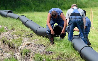 Wacken beer pipeline