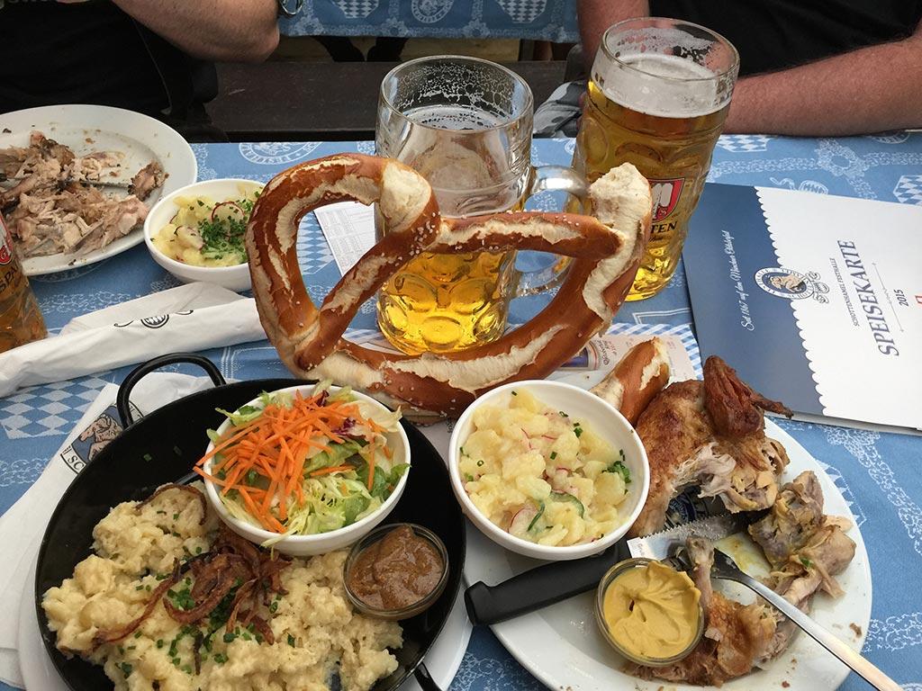 Oktoberfest food