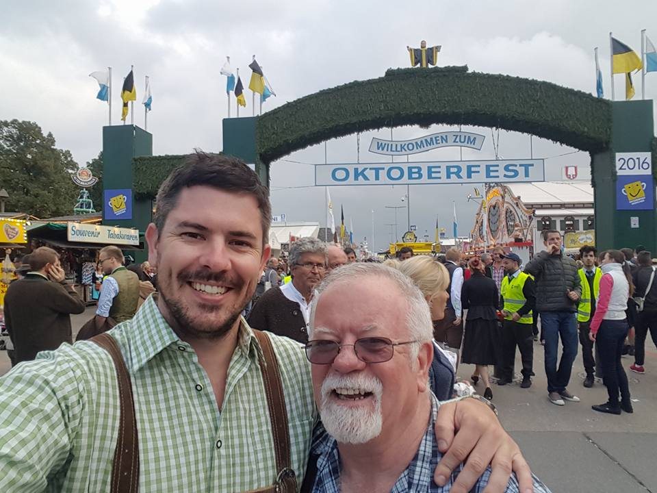 Oktoberfest Legend Ken Sutton