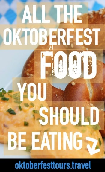Oktoberfest food | Munich, Germany | Pretzels and beer | Half Chickens and pork knuckles | What to eat at Oktoberfest | What to expect from Oktoberfest food | Oktoberfest food dining tips | Oktoberfest beer tent menus |