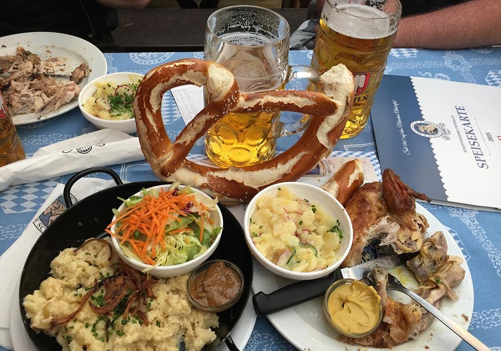 Oktoberfest 2017 Beer Consumption