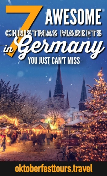 7 Awesome Christmas Markets in Germany You Can't Miss | #germany #christmas #holidays #christmasmarket