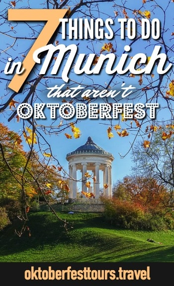 Things to do in Munich, Germany outside Oktoberfest | What to do in Munich #oktoberfest #germany #munich #traveltips #bavaria
