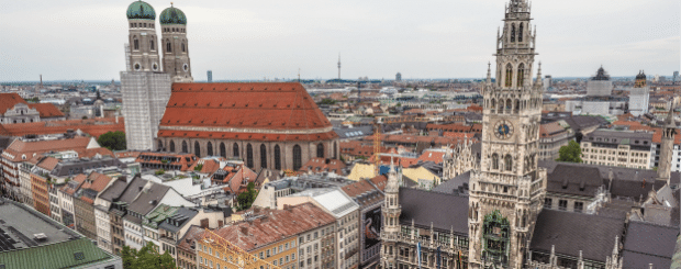 Things to do in Munich, Germany outside Oktoberfest | View from St. Peter's Church