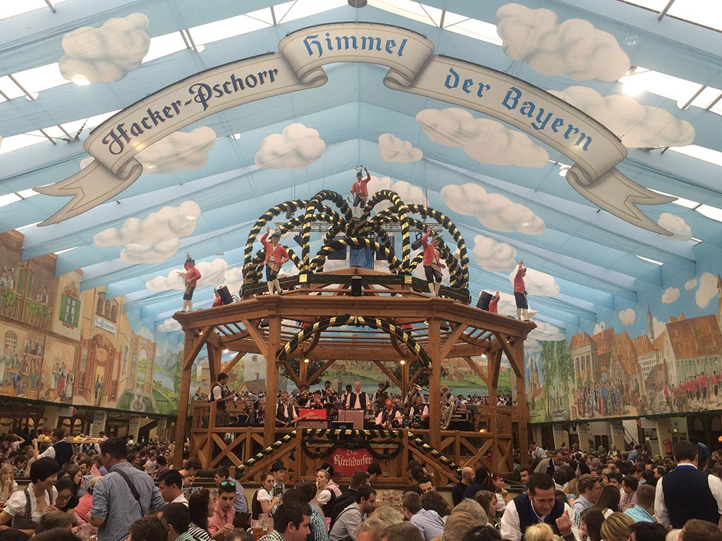 Oktoberfest Beer Tents Hacker
