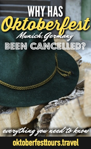 All the reasons throughout history that #Oktoberfest in #Munich, #Germany has been cancelled. WW2, etc.