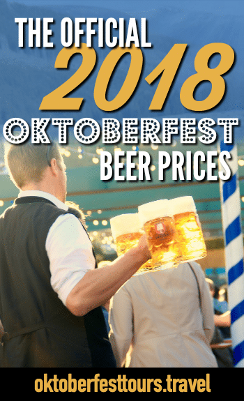 The official 2018 Oktoberfest beer prices
