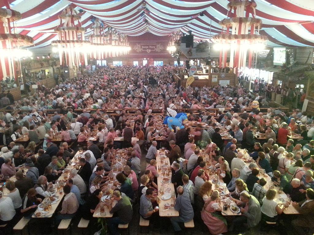Stuttgart Beer festival tents