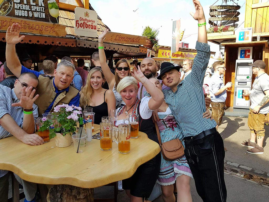 Over 4 million people visit the festival every year, making it the 2nd largest beer festival in the world.