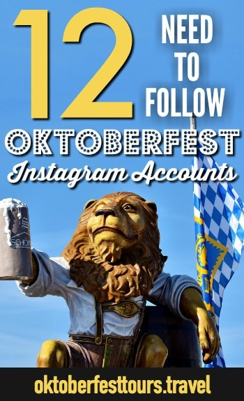 12 Oktoberfest Instagram Accounts You Need to Follow | Oktoberfest Munich, Germany
