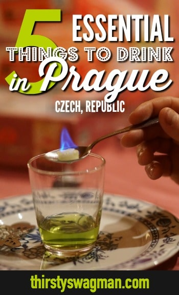 5 things you need to drink in Prague, Czech Republic | Absinthe #prague #absinthe