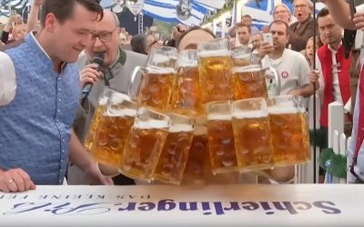 Beer Carrying Record Oliver Strumpfel