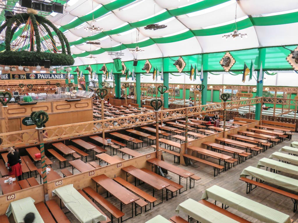 Oktoberfest Beer Tent Tickets