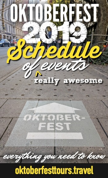 Oktoberfest 2019 Schedule of (really awesome) events