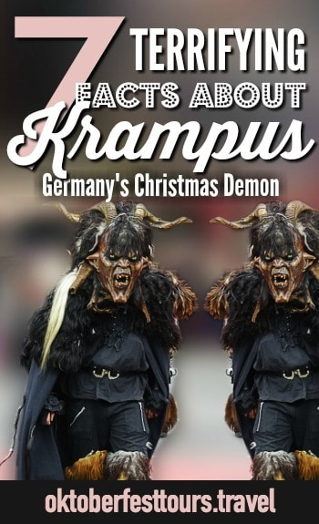 7 Things You Need to Know About Krampus, Germany's Christmas Demon #christmas #germany #demon #krampus