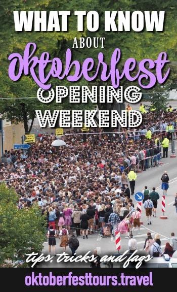 Opening weekend at Oktoberfest in Munich, Germany #oktoberfest #munich #germany #beerfestival #beer #festival