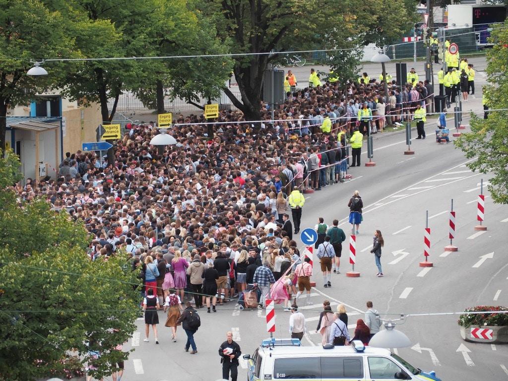 Opening weekend at Oktoberfest in Munich, Germany