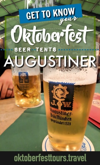 Get to know your Oktoberfest beer tents: Augustiner Festhalle #oktoberfest #beer #festival #munich #germany #augustiner