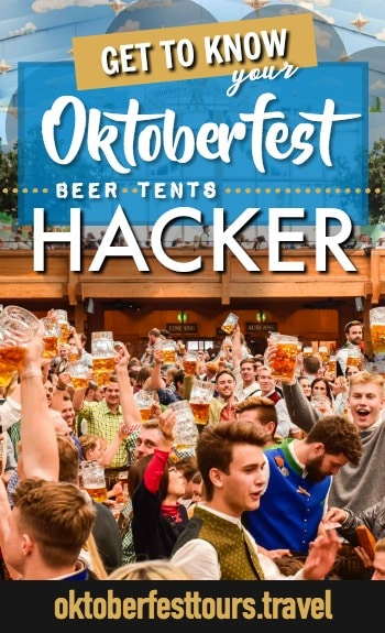 Get to know your Oktoberfest beer tents: Hacker-Pschorr Festzelt #oktoberfest #beer #festival #hackerpschorr #munich #germany