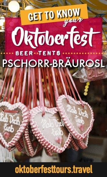 Get to know your Oktoberfest beer tents: Pschorr Braurosl #oktoberfest #beer #festival #munich #germany