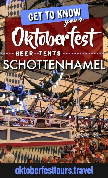Get to know your Oktoberfest beer tents: Schottenhamel #ozapftis #oktoberfest #beer #festival #germany #munich #spaten