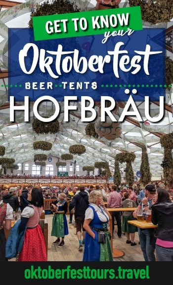Get to know your Oktoberfest beer tents: Hofbräu Festzelt #oktoberfest #beer #festival #hofbrau #munich #germany
