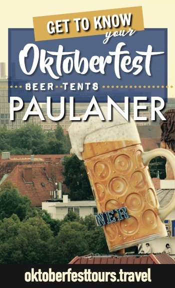 Get to know your Oktoberfest beer tents: Paulaner Festzelt, aka Winzerer Fähndl #oktoberfest #beer #festival #paulaner #munich #germany