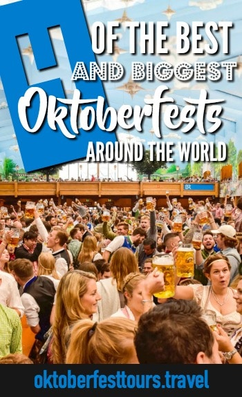 4 of the best and biggest oktoberfest celebrations around the world | Oktoberfest Blumenau in Brazil, Oktoberfest Kitchener-Waterloo in Canada, Oktoberfest Brisbane in Australia, Oktoberfest Chicago in the United States #oktoberfest #festival #beer #worldfestivals