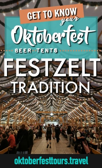 Get to know your Oktoberfest beer tents: Festzelt Tradition #oktoberfest #beer #festival #munich #germany #augustiner