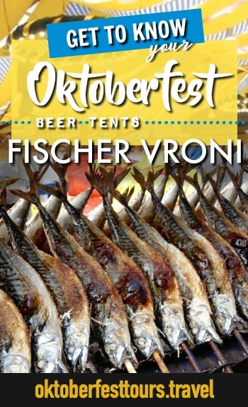 Get to know your Oktoberfest beer tents: Fischer Vroni #oktoberfest #beer #festival #munich #germany #augustiner