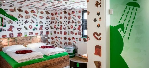 Germany opened a new sausage hotel and it's just the wurst | Rittersbach, Germany, Bratwurst Hotel #sausage #bratwurst #germany