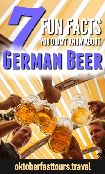 7 German Beer Facts That Prove True Love Exists | Fun facts about German Beer