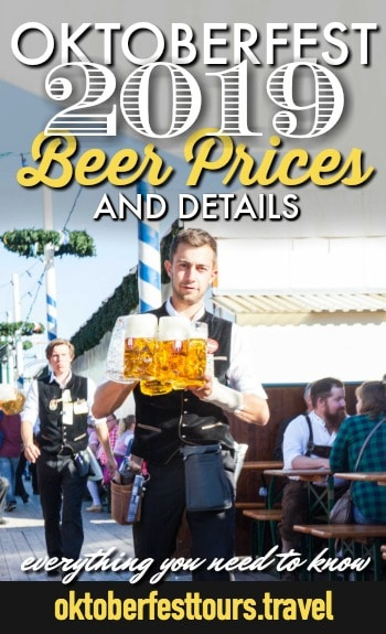 The official Oktoberfest 2019 beer prices and all the details you need to know #oktoberfest #beer #festival
