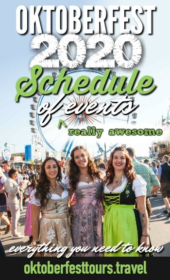 Oktoberfest 2020 Schedule of (really awesome) events | What is happening Oktoberfest 2020, Oktoberfest family day, Italian weekend, Gay Sunday, parades and ceremonies, and more #oktoberfest #germany #traveltips #beerfestival #festival #beer #munich