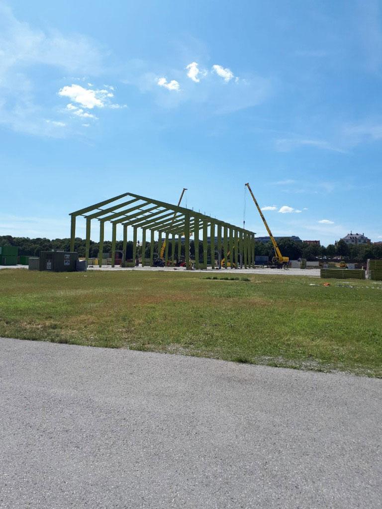 Oktoberfest 2019 Construction